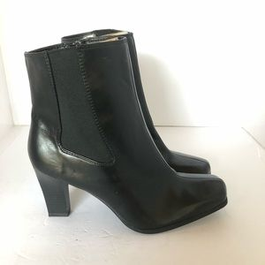 ComfortPlus by Predictions Ankle Boot Black 8 Wide